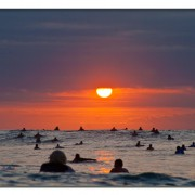 Surfers Sunset de Edwart Ramirez